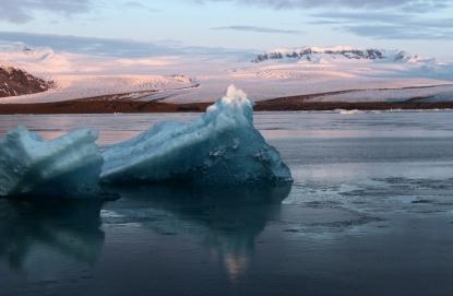 Floating glaciers, Jökulsárlón, Iceland