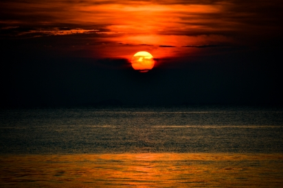 Sunset on Perhentian Islands