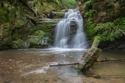 Rešov waterfall
