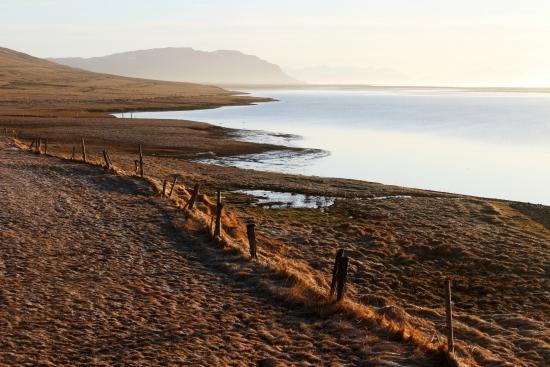 Sunrise in Hali (Iceland)
