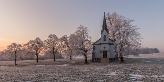 Frozen church