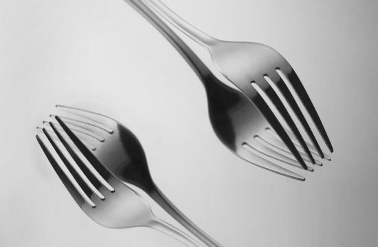 Artistic cutlery, Fork