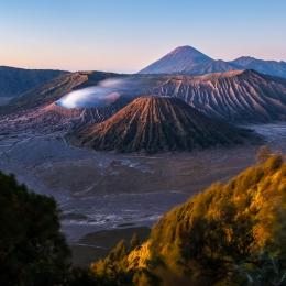 Bromo volcano